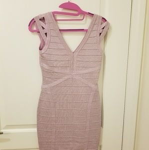 Sparkling lavander dress size small
